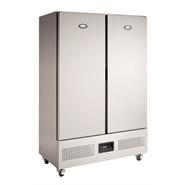 Foster Slimline Double Door Upright Freezer 800 Ltr