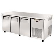 True 3 Door Counter Gastronorm Fridge 456 Ltr