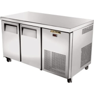 True 2 Door Counter Gastronorm Freezer 297 Ltr