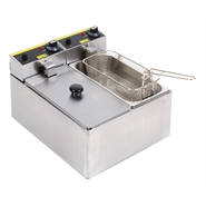 Buffalo Double Fryer 2x3Ltr