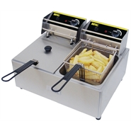 Buffalo Double Heavy Duty Fryer