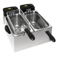 Buffalo Light Duty Fryer 2x3.5 Ltr