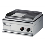 Lincat Silverlink 600 Half Ribbed Electric Griddle GS6/TR