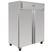 Polar Heavy Duty Double Door Gastronorm Fridge 1300 Ltr