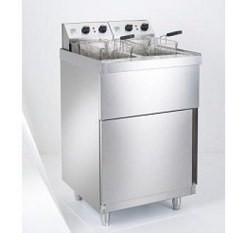 Parry Electric Double Pedestal Fryer 9KW