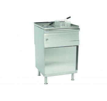 Parry Natural Gas Double Pedestal Fryer