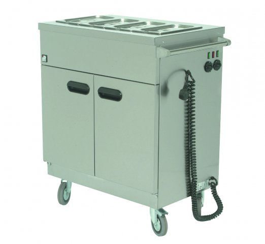 Parry Mobile Servery Bain Marie Top 1.6KW