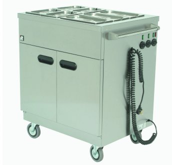 Parry Mobile Servery Bain Marie Top 2.2KW