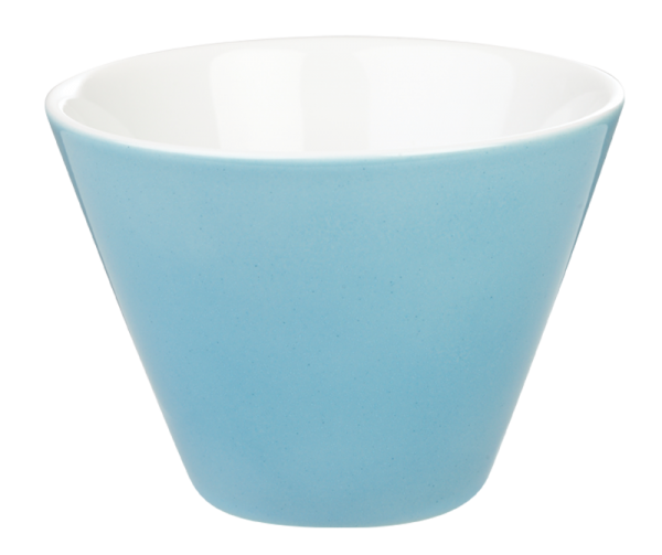 porcelite conic bowls blue