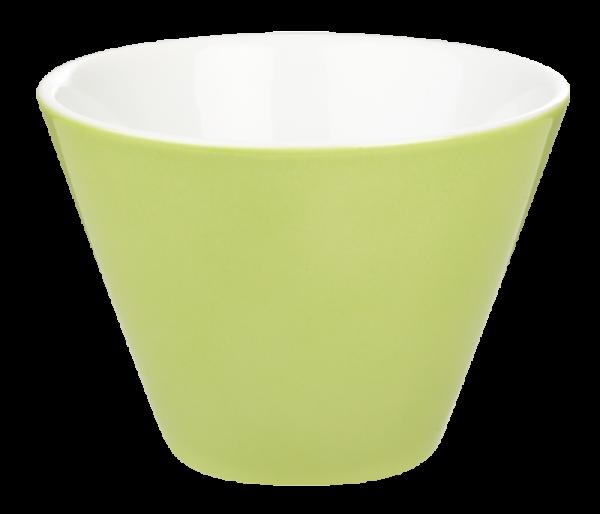 porcelite conic bowls green